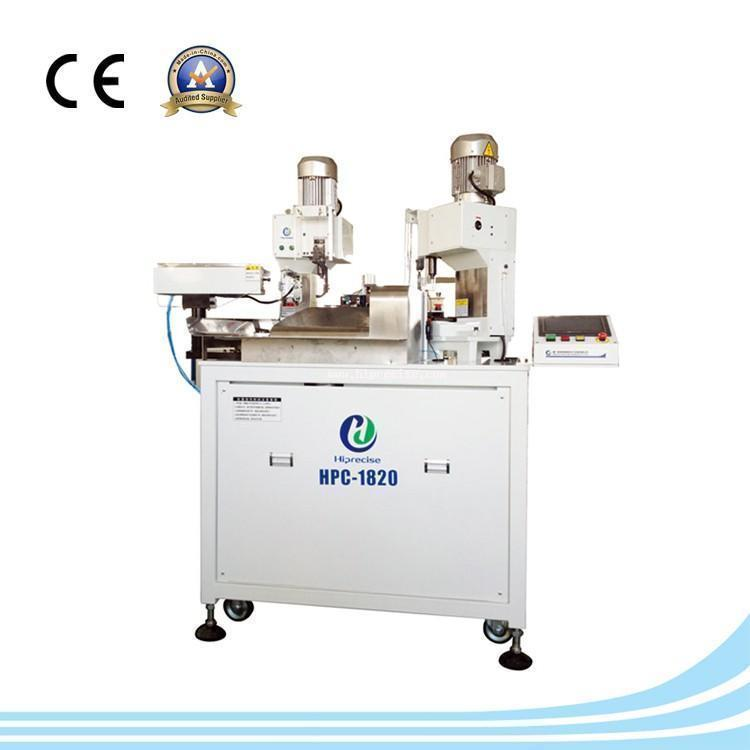 wire stripping and crimping machine