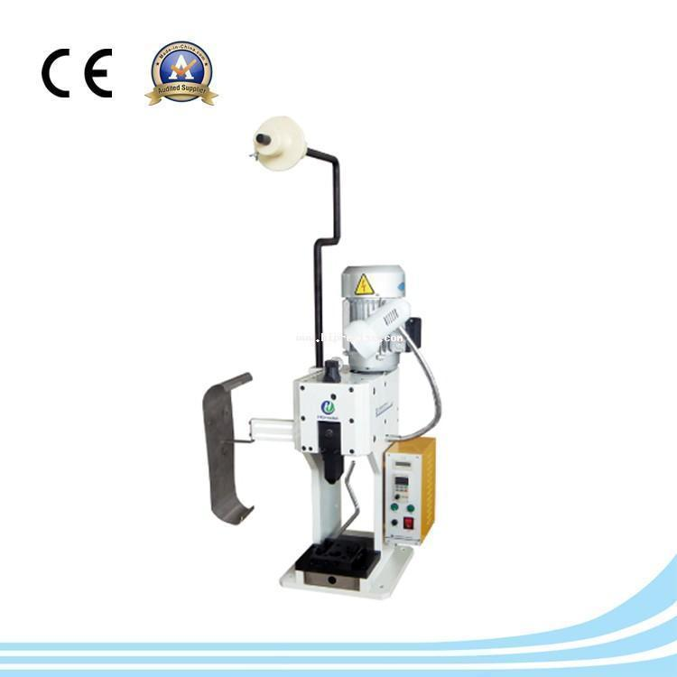 Semi auto wire cable terminal crimping machine